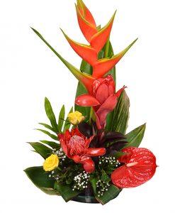 Bloemen laten bezorgen in Suriname