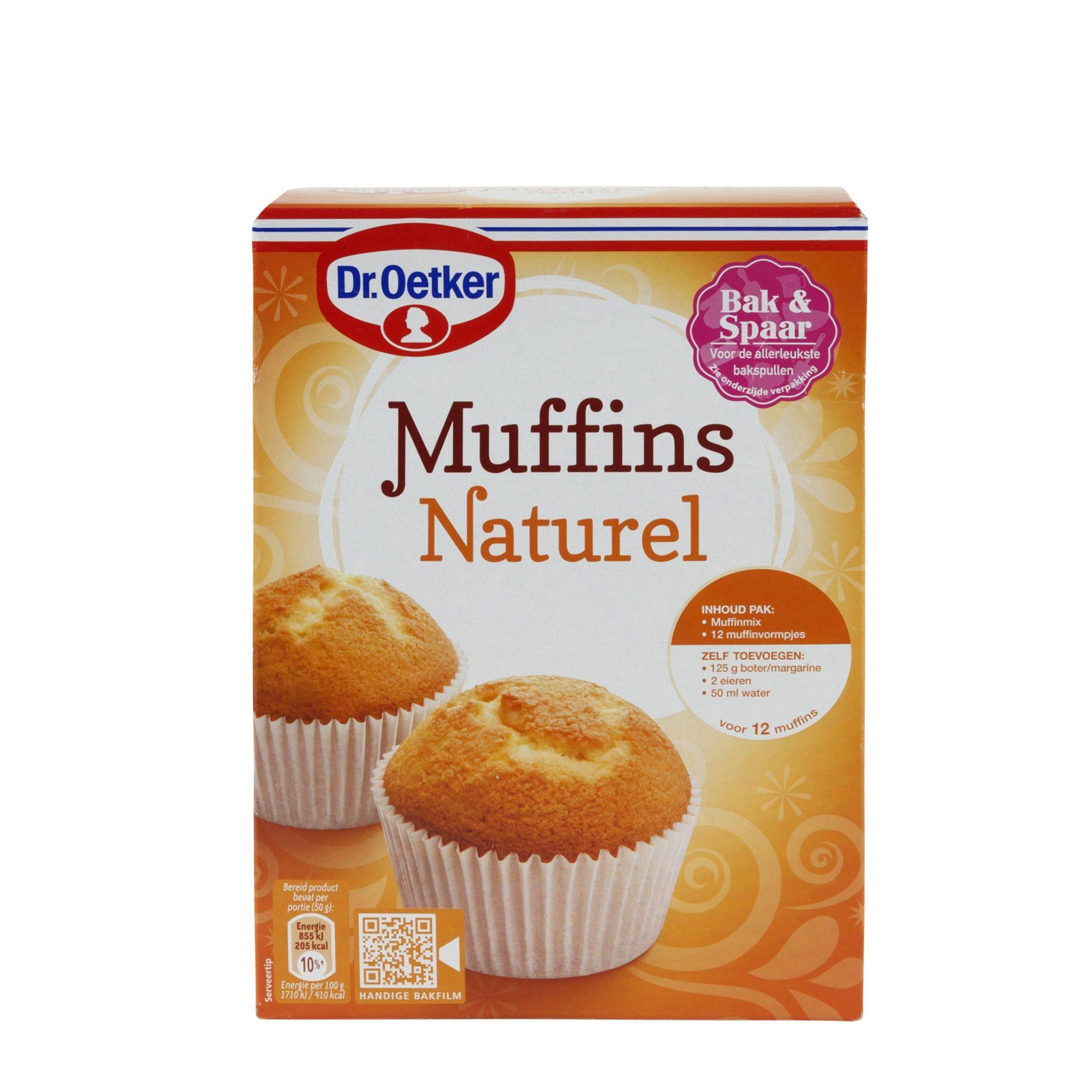 Dr. Oetker Muffins Naturel