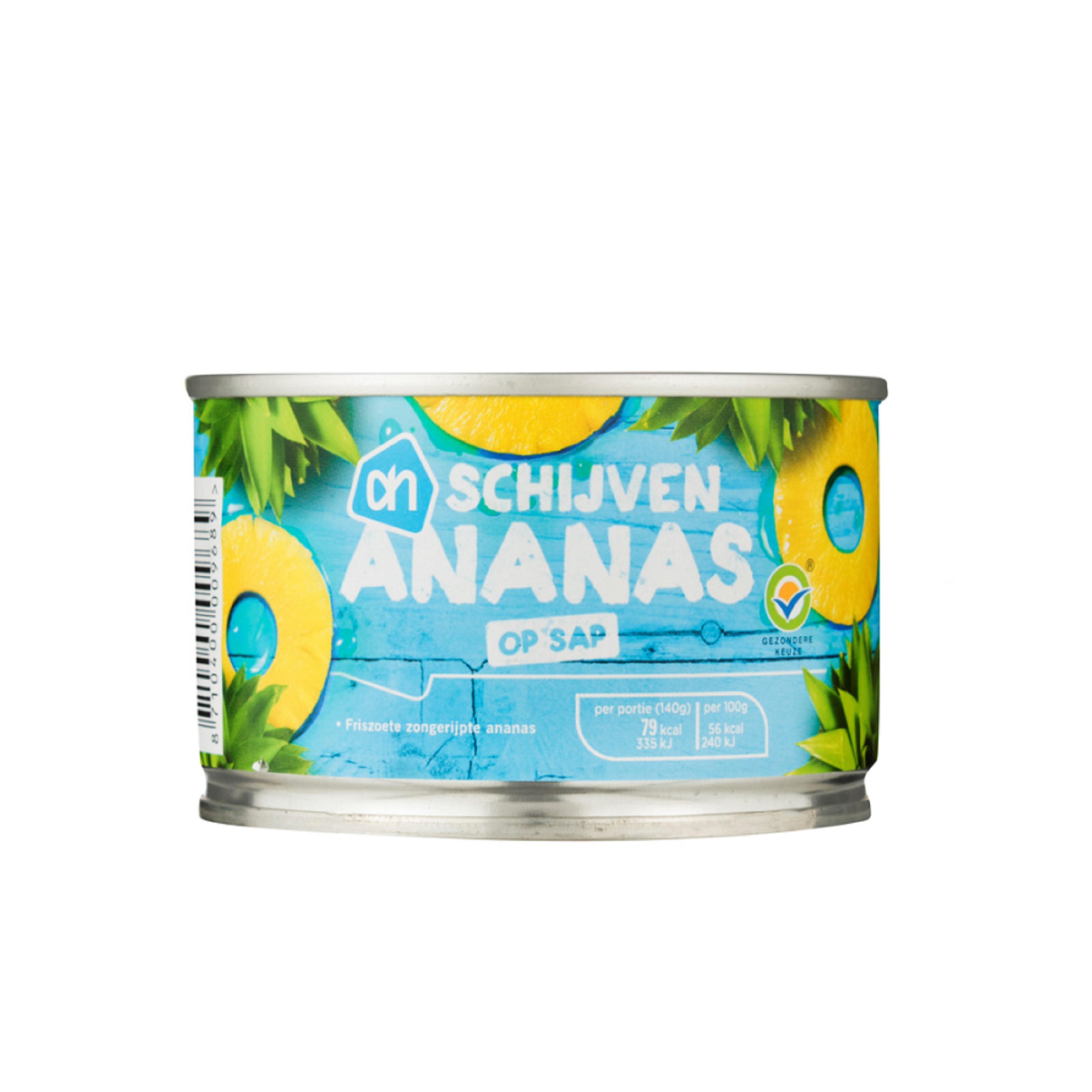 Ananas schijven